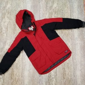 LANDS END YOUTH WINTER JACKET SIZE M 10/12